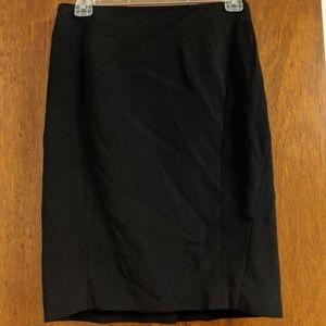 Ann Taylor 2P Black skirt